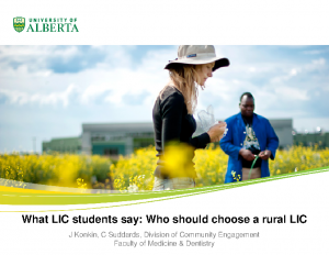 KONKIN-What-LIC-students-say-Who-should-choose-a-rural-LIC.ppt