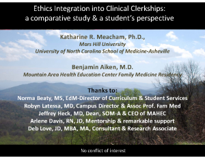 MEACHAM-Ethics-Integration-into-Clinical-Clerkships