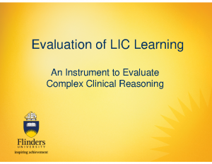 ROBERTON-Evaluation-of-LIC-Learning