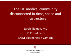 TIEMAN-The-LIC-Medical-Community-Disconnected