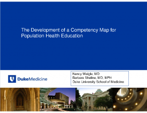 WEIGLE-Development-of-a-Competency-Map-Population-Health